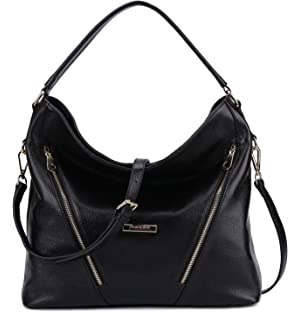 BIG SALE-AINIMOER Womens Leather Vintage Shoulder Bag Ladies ...