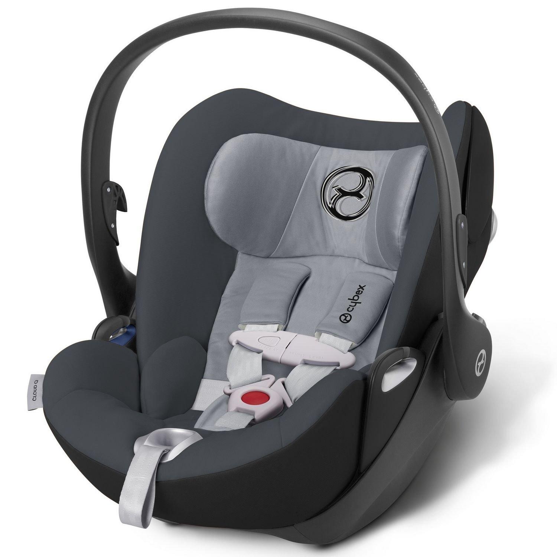Amazon.com: Cybex Cloud Q bebé asiento de coche – luna polvo ...