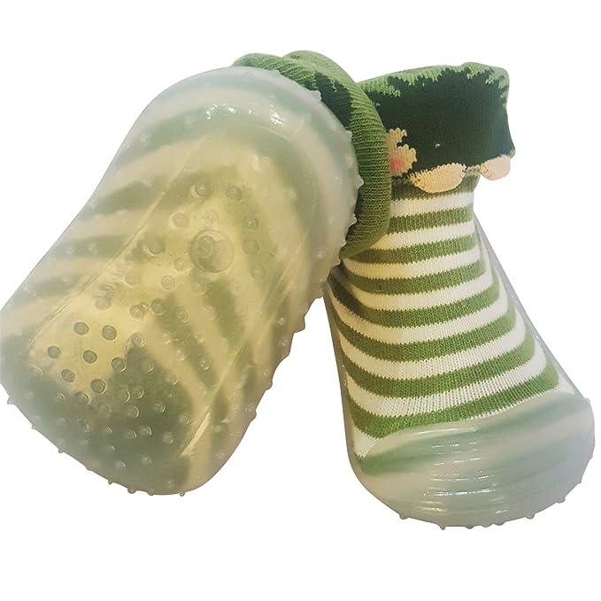 C2BB - Calcetines con suela antideslizante para niñas | Erizo - Talla: 24: Amazon.es: Ropa y accesorios