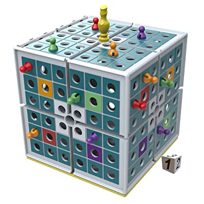 Squashed 3D Strategy Board Game: Toys & Games