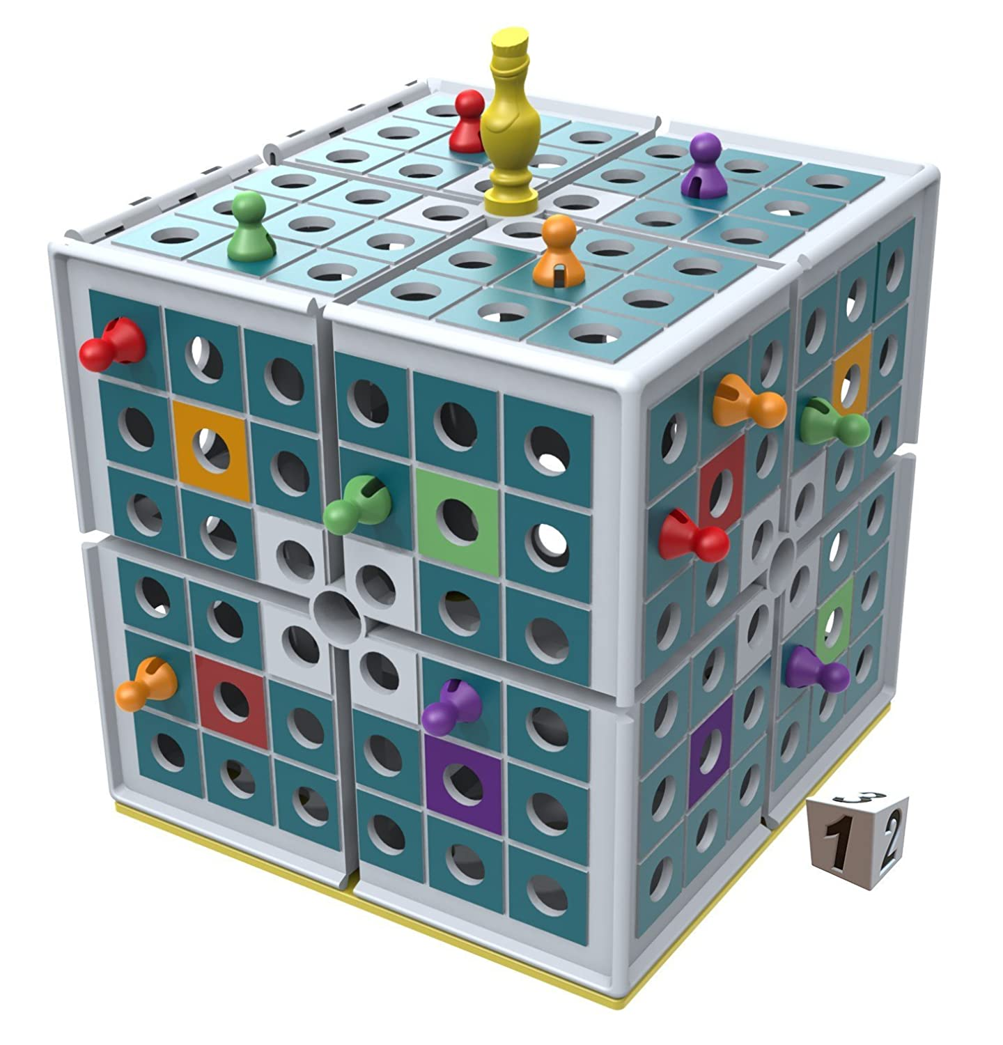 Squashed 3D Strategy Board Game