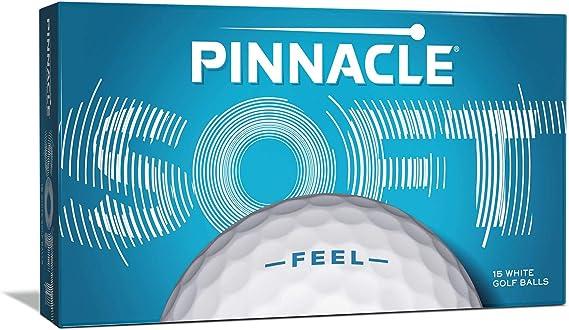Pinnacle Golf Soft Golf Ball (15-Ball Pack)