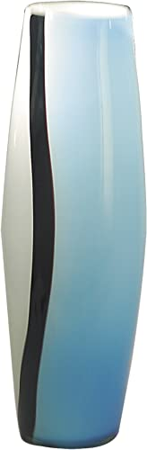 Dale Tiffany PG60587 Arctic Blue Decorative Vase, 6-Inch by 18-Inch