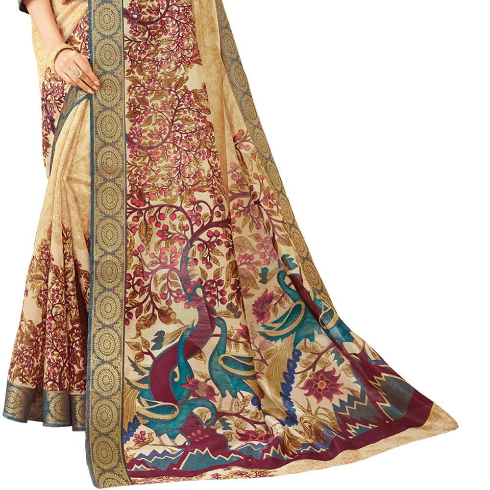 Art Silk Saree with Blouse Piece