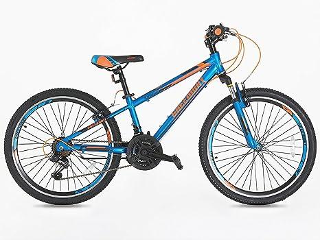 Junior bicicleta de montaña 24 pulgadas ruedas Shimano Gear 21 ...