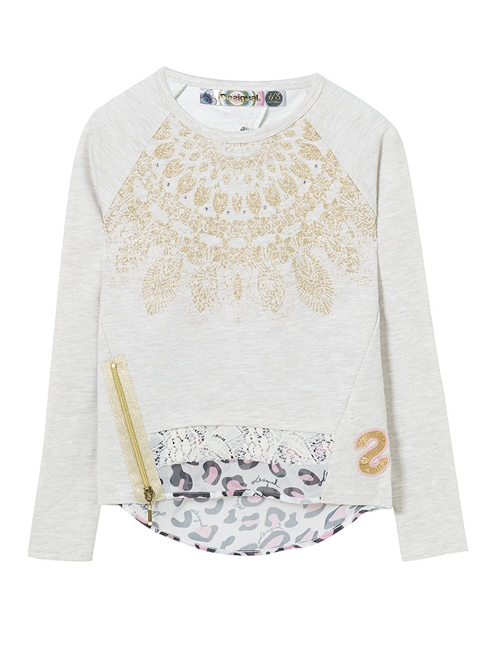 Desigual Girls Sweatshirt Cervantes Sizes 5-14