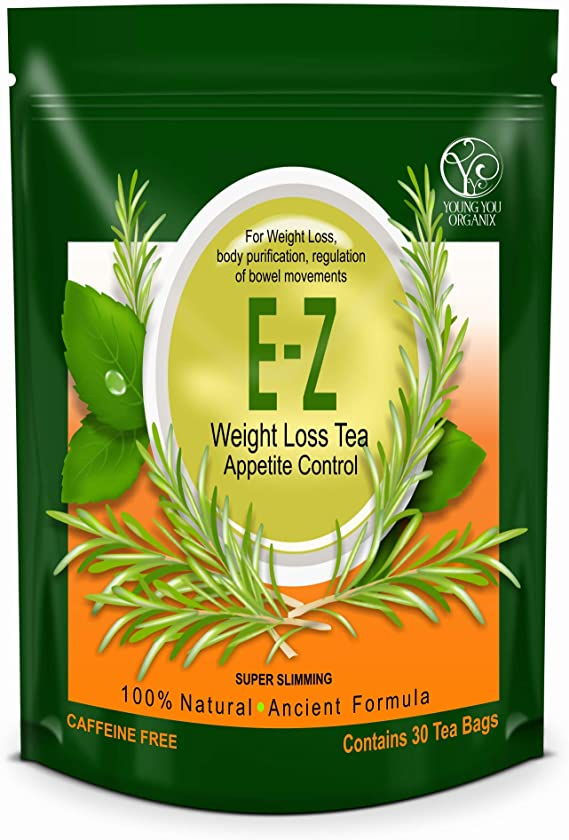 Amazon Com E Z Weight Loss Detox Tea Belly Fat Appetite Control Body Cleanse Colon Detox Weight Loss Health Personal Care