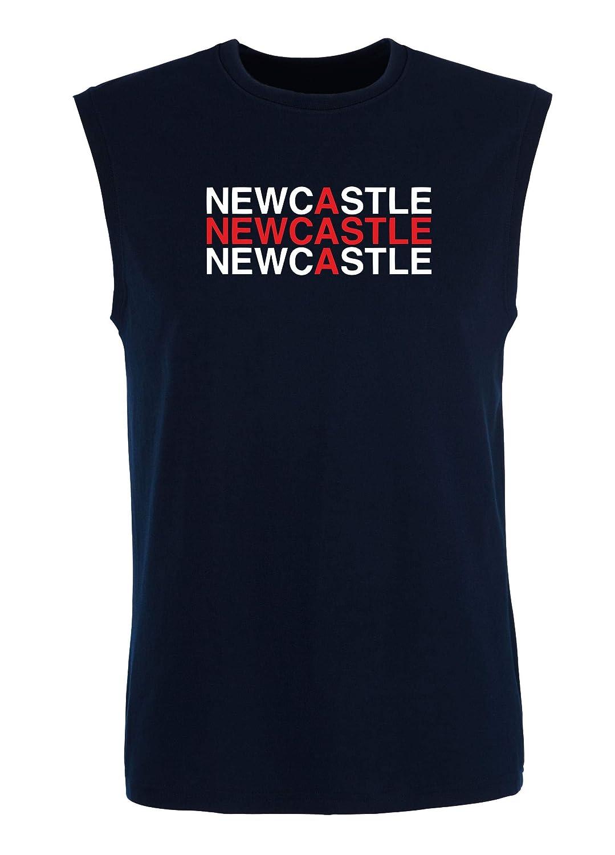 Newcastle WC0518 - Camiseta sin Mangas para Hombre, Color Azul ...