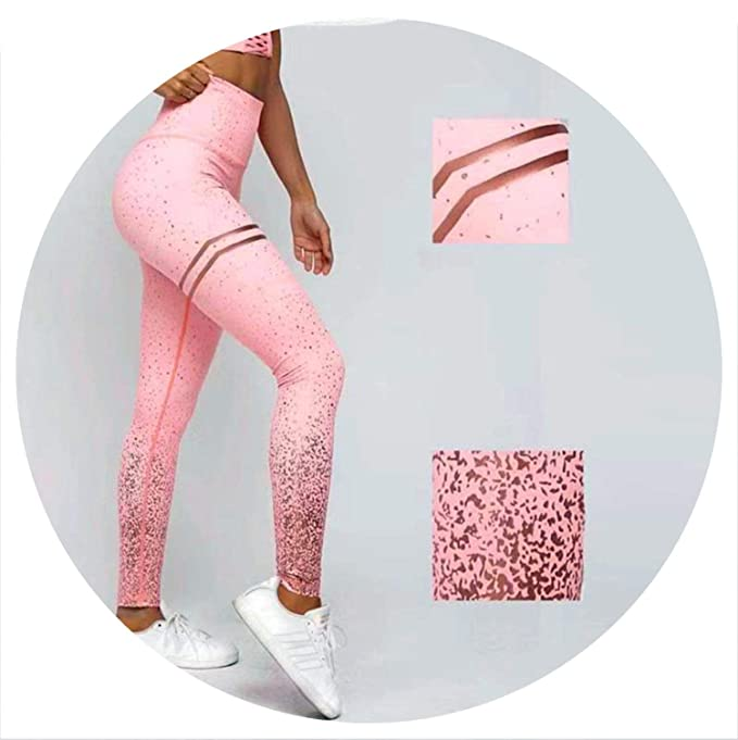 Amazon.com: Our ideas Leggings Sequin Pants Push Up Mujer ...