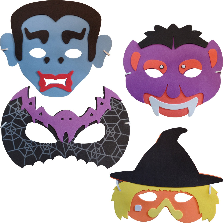 Soft Foam Pirate Mask 6 Supplied