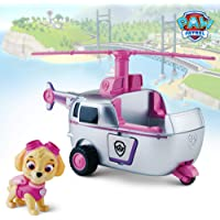 Paw Patrol Basic Vehicle - Skye Toy for Kids, Age 3 Years and Above