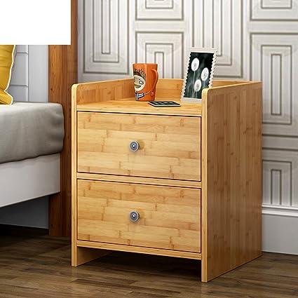 Bon Bamboo Storage Cabinet Simple Modern Small Locker Bedside Table Simple  Bedroom Locker Filing Cabinets Bedside Cabinets
