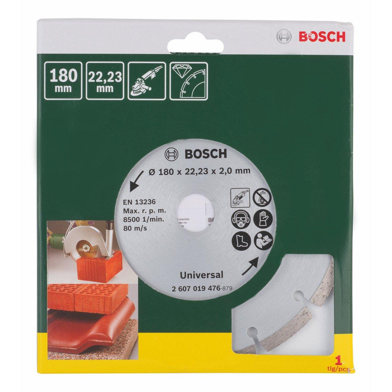 125 mm Bosch 2607019475 Disco Diamantato Universale