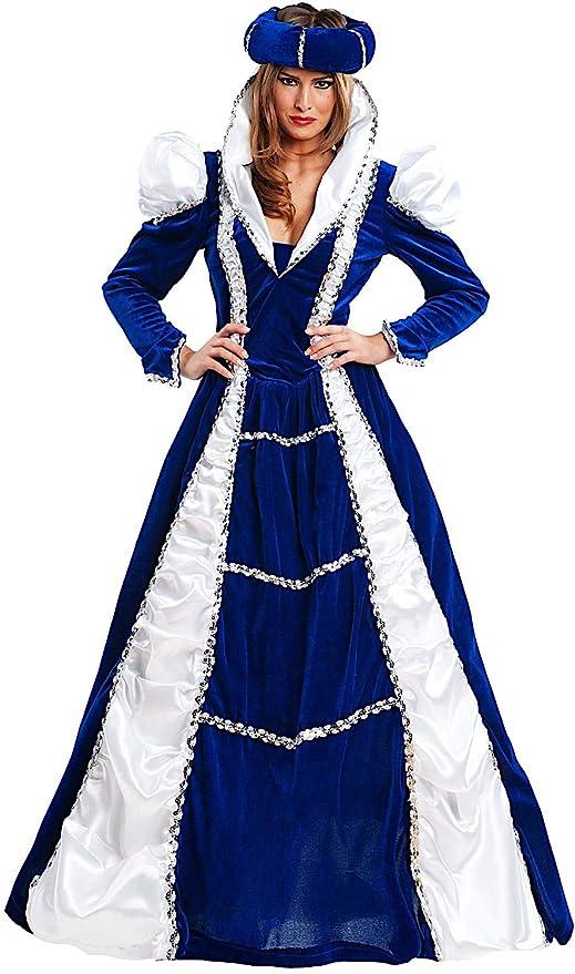 ma non volgare vendita online grande liquidazione Costume di Carnevale da NOBILDONNA Vestito per Donna Adulti Travestimento  Veneziano Halloween Cosplay Festa Party 4488 Taglia XL