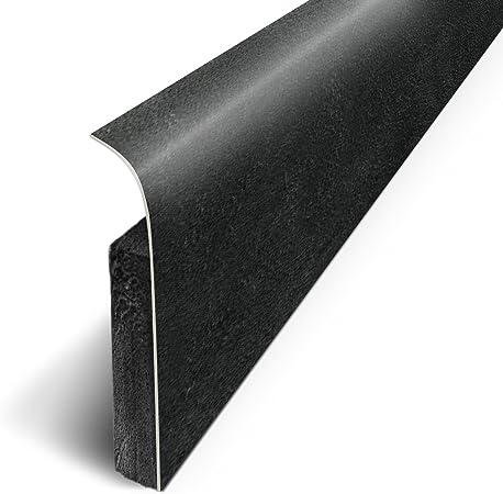 3m Plinthes Adhésives Lot De 5 Béton Noir Long 120 Cm X Haut 7 Cm X Ep 1 1cm Ref D180525d