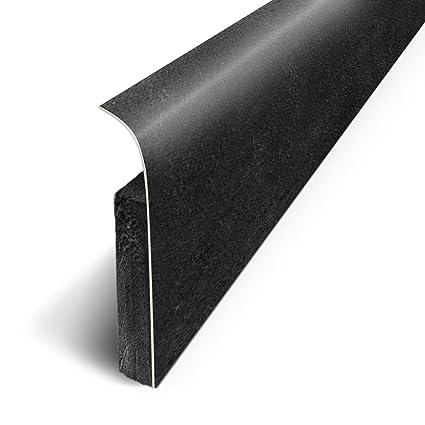 3m Plinthes Adhésives Lot De 5 Béton Noir Long 120 Cm X Haut
