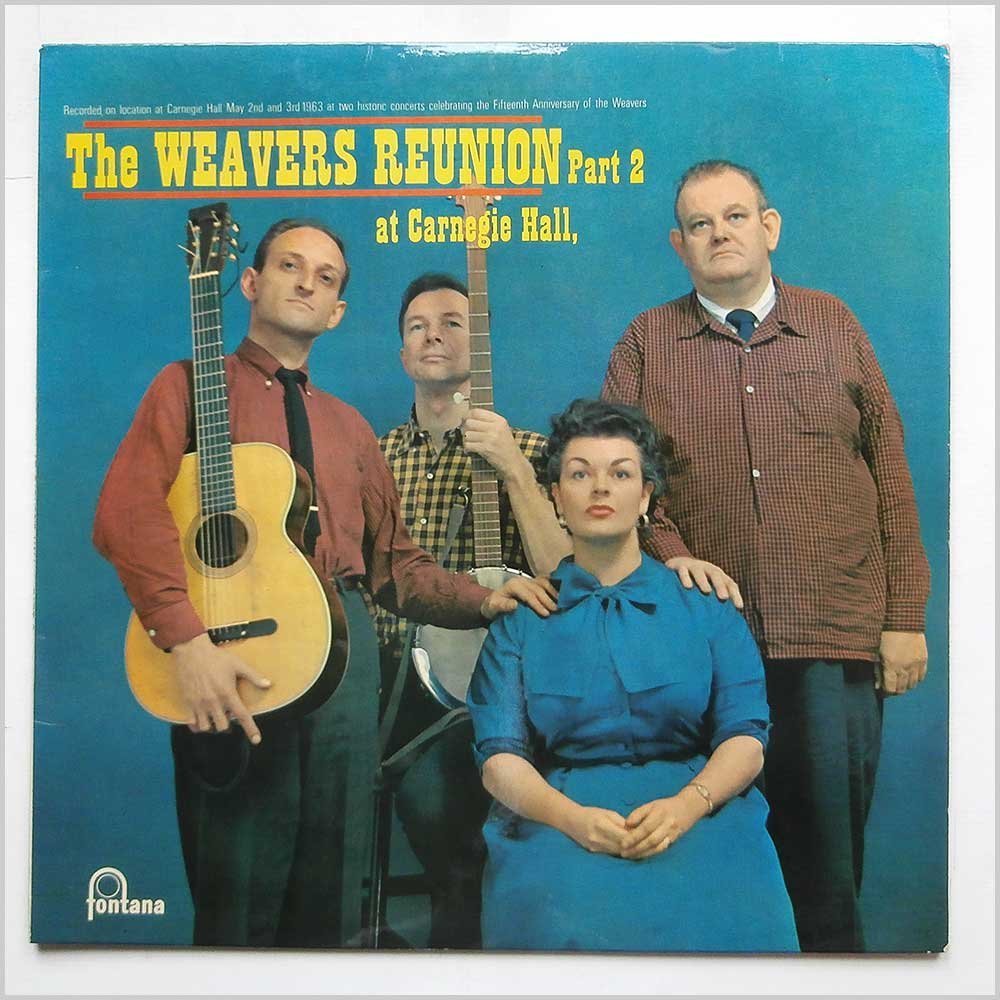 Weavers Reunion At Carnegie Hall Part 2 Lp Amazon Music