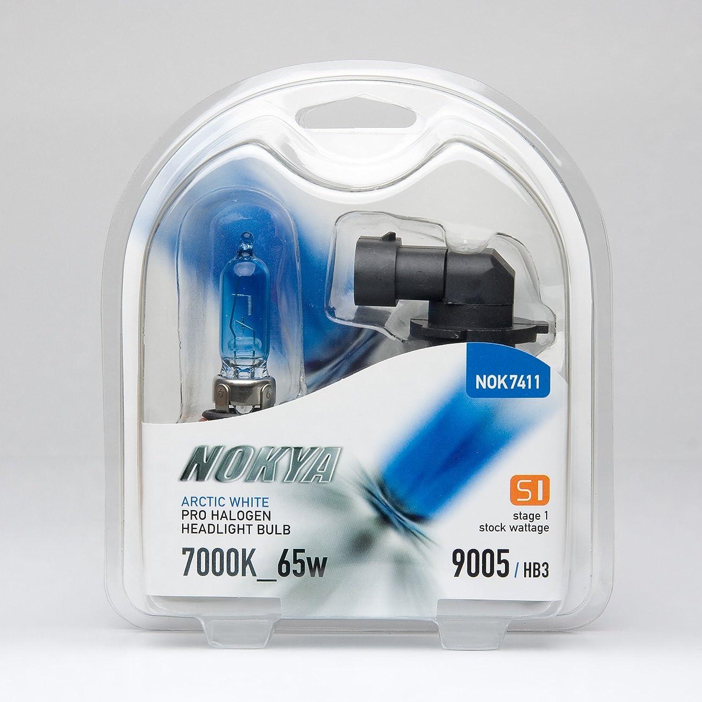 Nokya Arctic White 9005 Headlight Bulb Stage 2