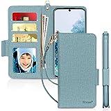 """Skycase Galaxy S20 Case 5G 6.2"""", Samsung Galaxy S20 Wallet Case,[RFID Blocking] Handmade Flip Folio Wallet Case with…"""