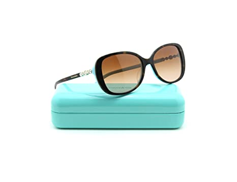 67d0e34ddf66 Amazon.com  Tiffany   Co. TF 4121B Womens Rectangular Gradient ...