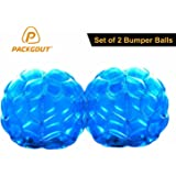 """Bumper Balls, PACKGOUT Inflatable Body Bubble Ball Sumo Bumper Bopper for Kids & Adults 36"""" – 2 Balls Included"""