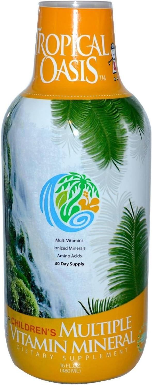 Tropical Oasis Children's Multiple Vitamin Mineral - 16 fl oz