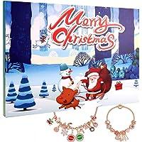 2019 Christmas Advent Calendar Xmas Present Box for Kids Girls,2 in 1 DIY Merry Christmas Countdown Calendar and Card…