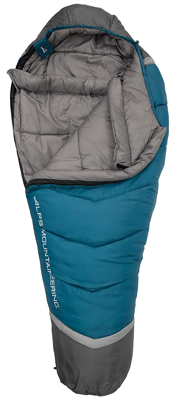 Alpes alpinismo Blaze -20 grados momia saco de dormir, Blue Coral/Coal, normal: Amazon.es: Deportes y aire libre
