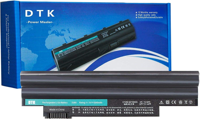 DTK D260 Laptop Battery Replacement for ACER Aspire One D255 D257 D270 522 E100 Happy Happy2 Series Fit P/N AL10A31 AL10B31 AL10G31 11.1V 5200mAh