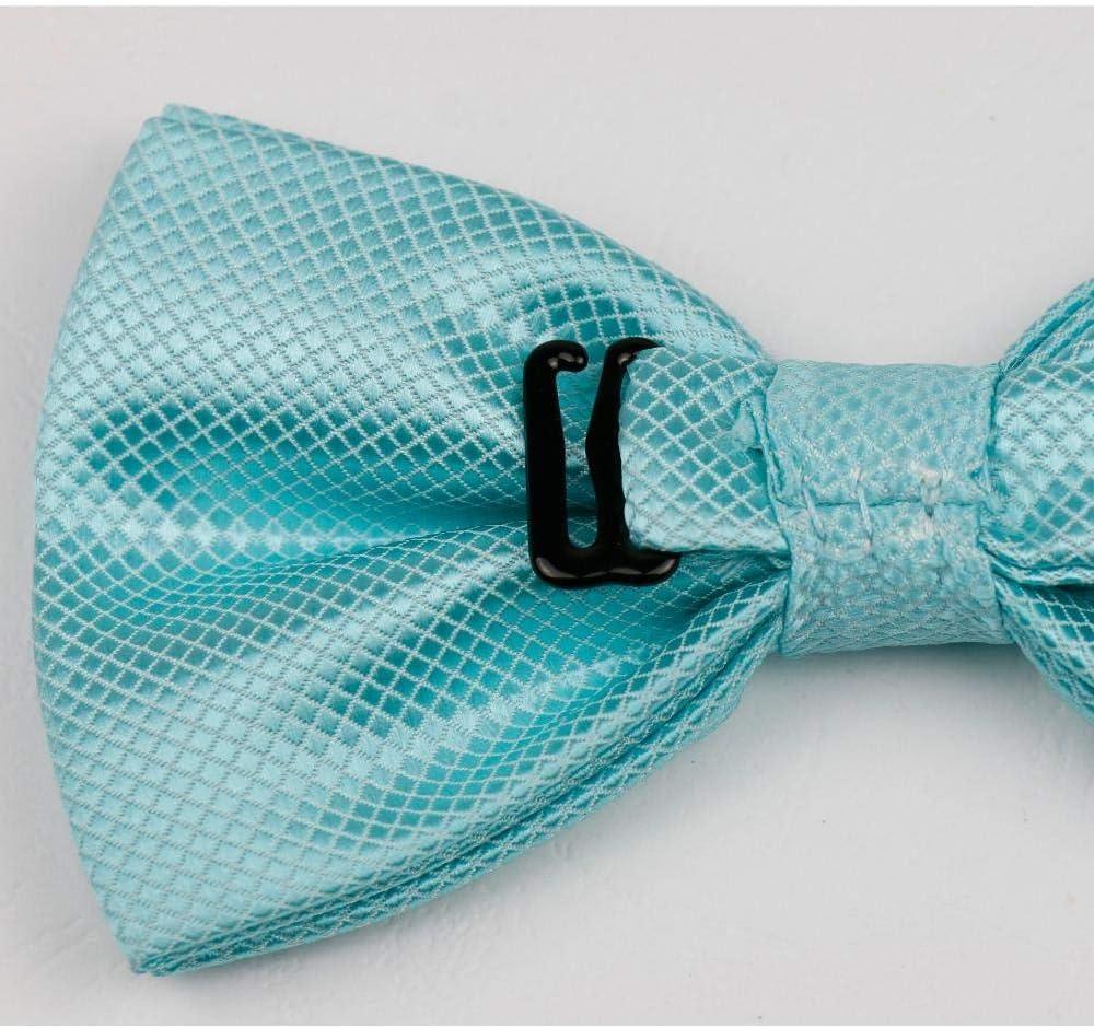 Barato Asequible BLO Tartán Pajaritas de novio sólido Cravat mariposa gravata masculino matrimonio boda fiesta pajarita 26 30 KfkMU1 iKKIEt