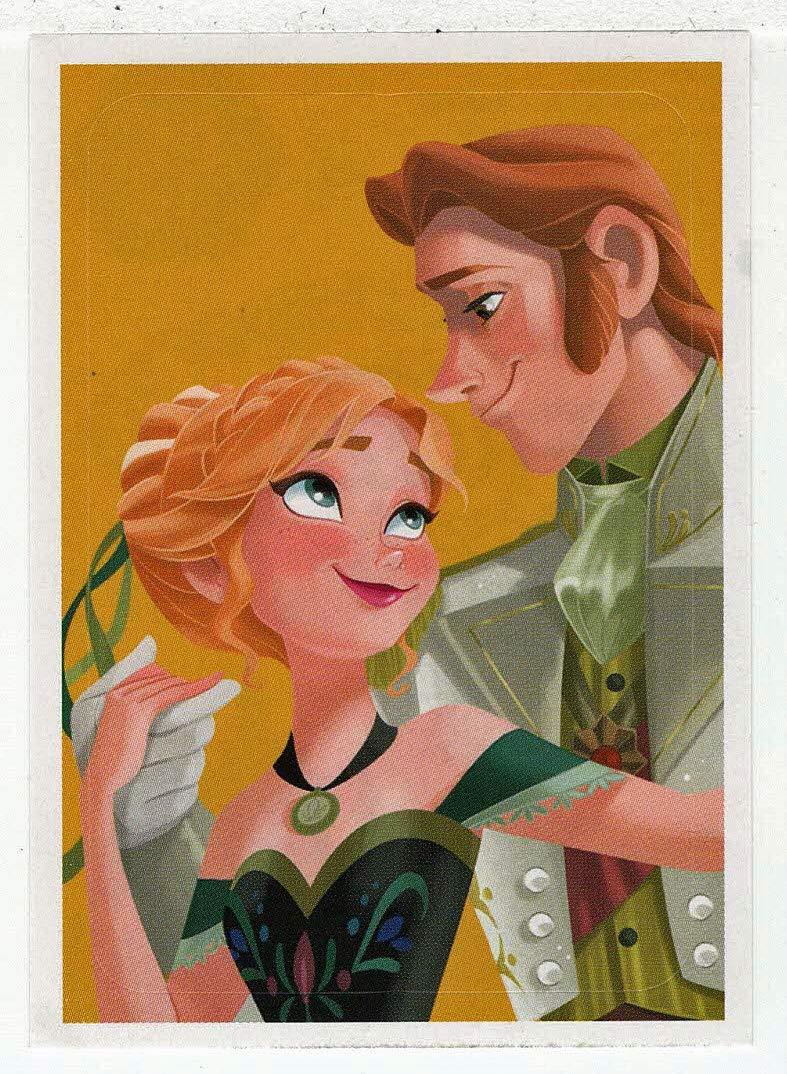Frozen - Enchanted Moments (Trading Card/Sticker) # 45 (Base) Panini 2014