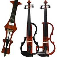Aliyes Handmade Professional Solid Wood Electric Cello 4/4 Full Size Silent Electric Cello-1804