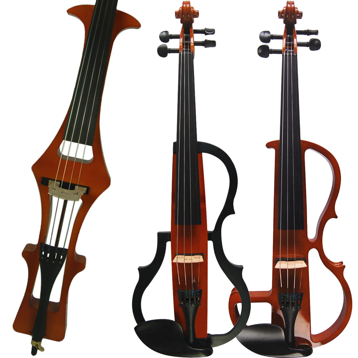 Aliyes Handmade Professional Solid Wood Electric Cello 4/4 Full Size Silent Electric Cello-1804 by Aliyes