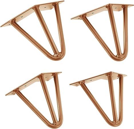 4x 15cm Hairpin Leg Tischbein Haarnadelbeine Tischkufen DIY Tischzubehör