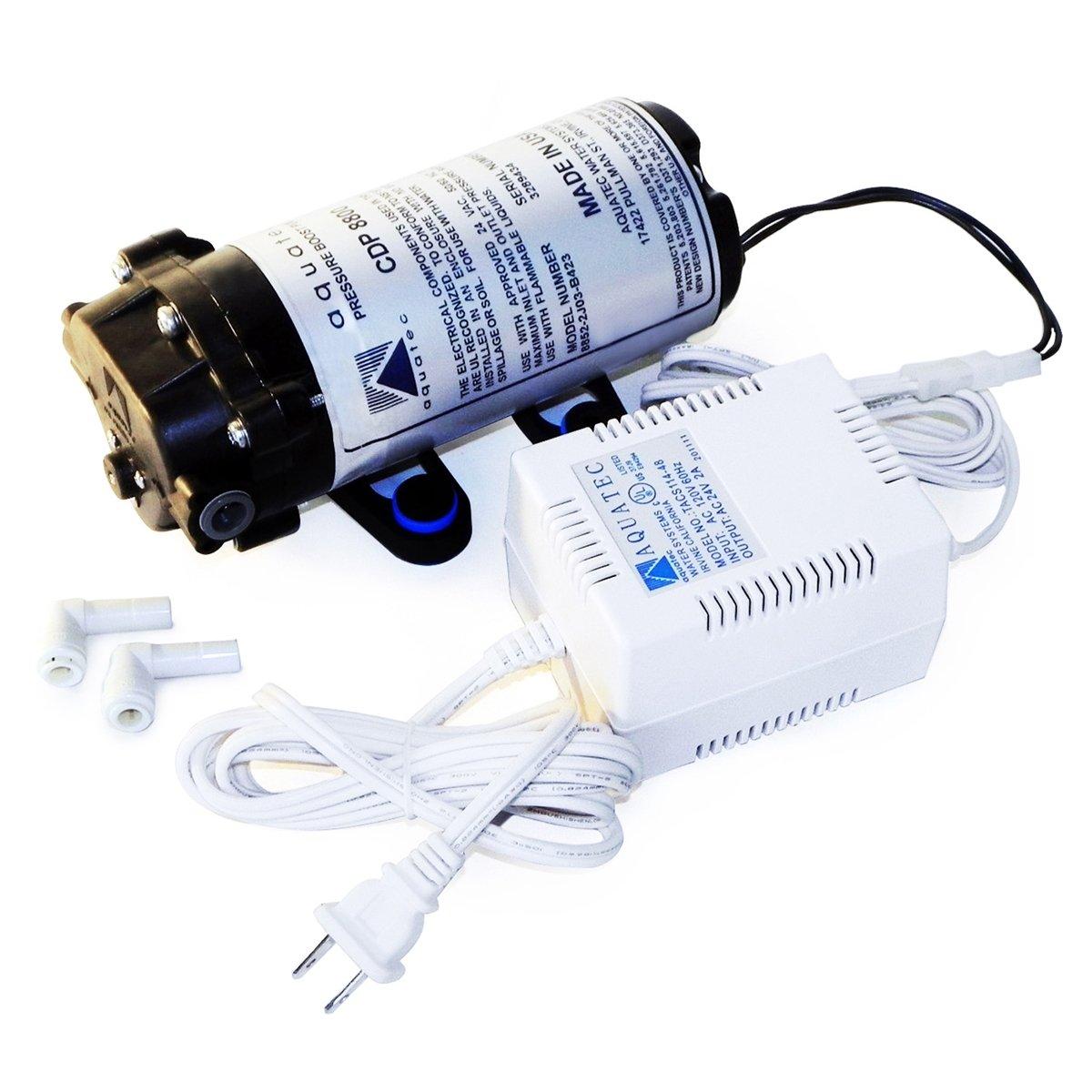 Aquatec AQUATEC-8851-2J03-B423S Booster Pump, 120 GPD