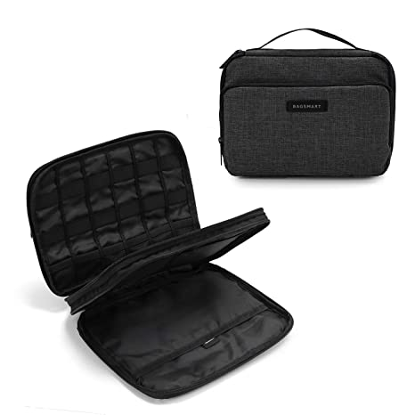a226be161 Amazon.com  BAGSMART 3-Layer Travel Electronics Cable Organizer with Bag  for 9.7