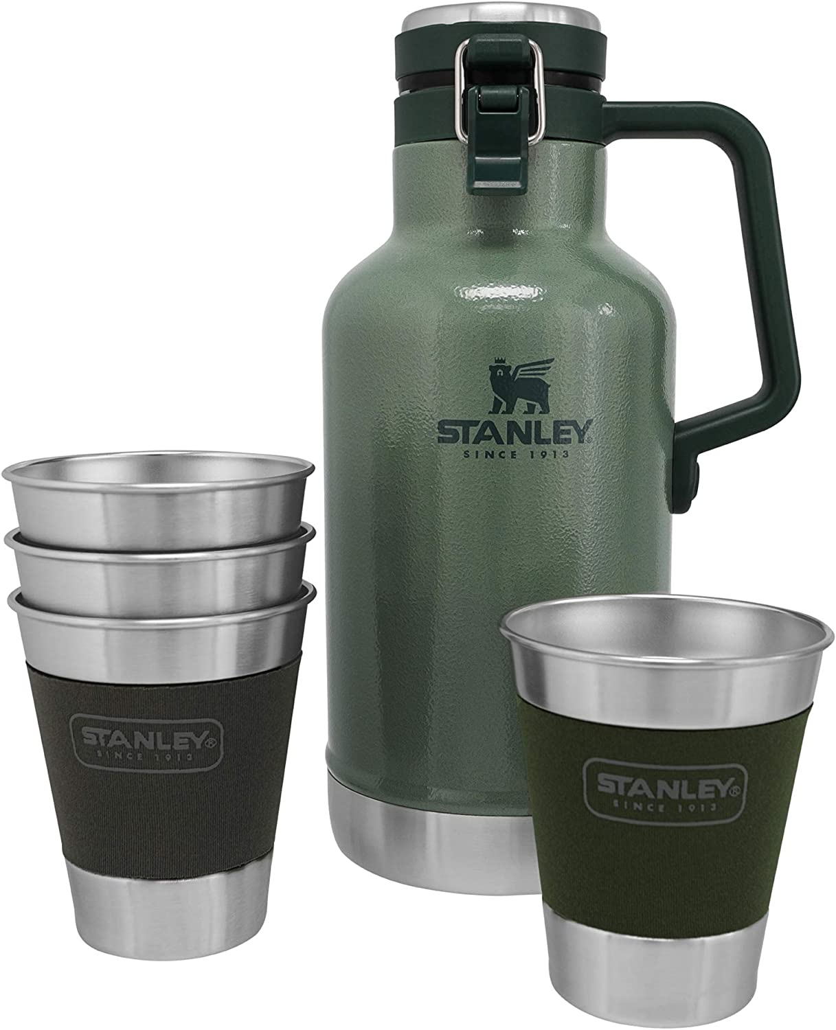 Stanley Classic Outdoor Growler Gift Set, 64oz + 12oz