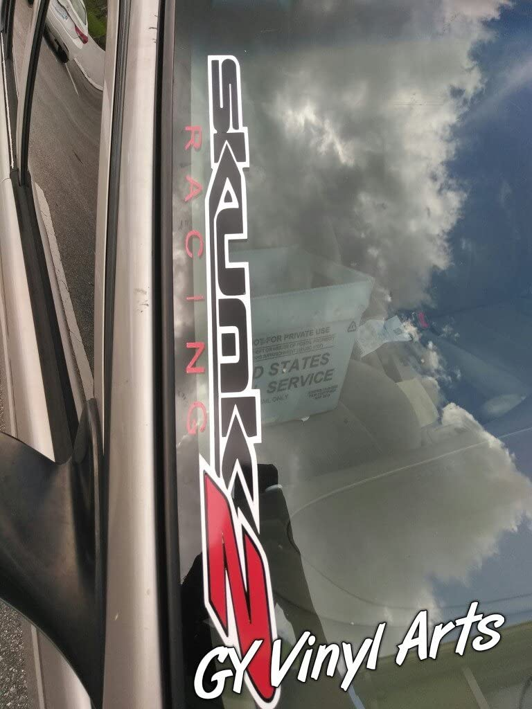 "SKUNK2 Front Window Windshield Carbon Fiber Vinyl Banner Decal Sticker 51/"""