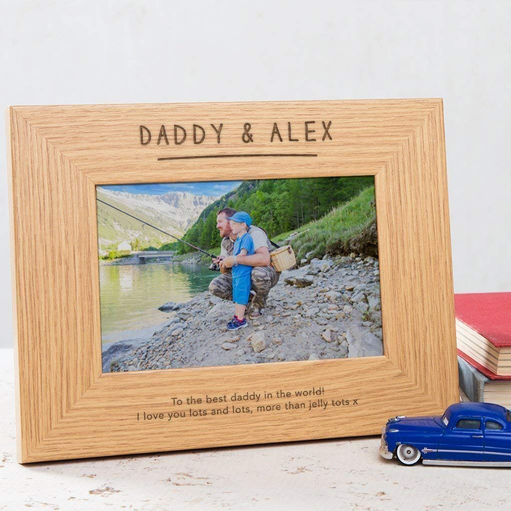 Personalised daddy mummy to be gift engraved pen New Baby Birthday Christmas
