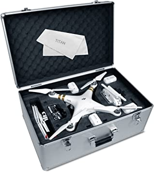 RC Aluminum Locking Case for DJI Phantom//Phantom 2