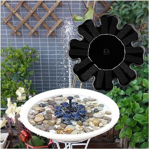 Bomba de agua solar Rcool - para estanques de jardín, fuentes, bebederos de pájaros: Amazon.es: Jardín