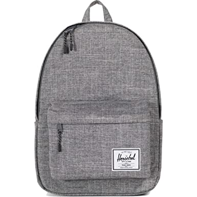 f9812e944fc Herschel Classic X-Large Backpack Raven Crosshatch One Size
