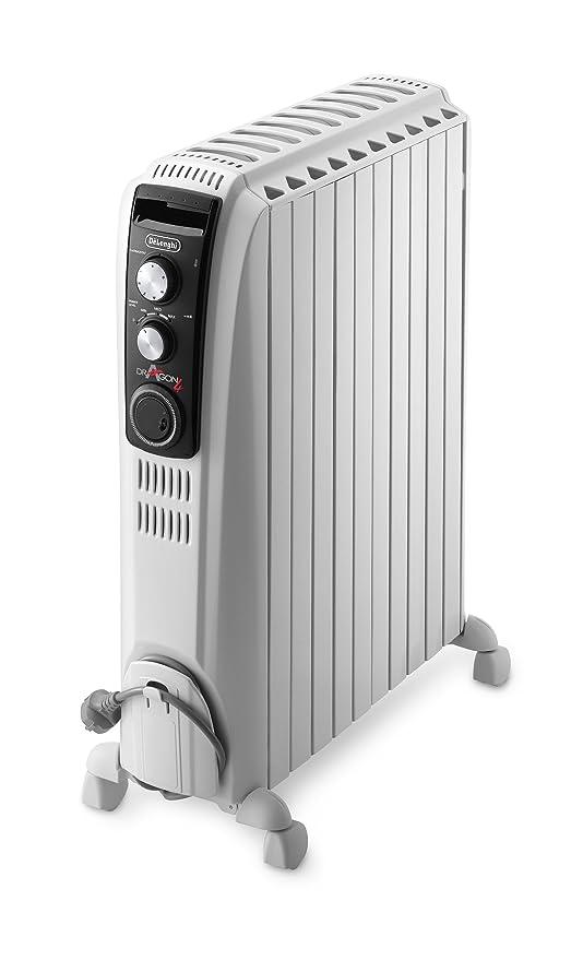 Delonghi Dragón-4 TRD4 1025T radiador de aceite Lleno de temporizador, 2,5