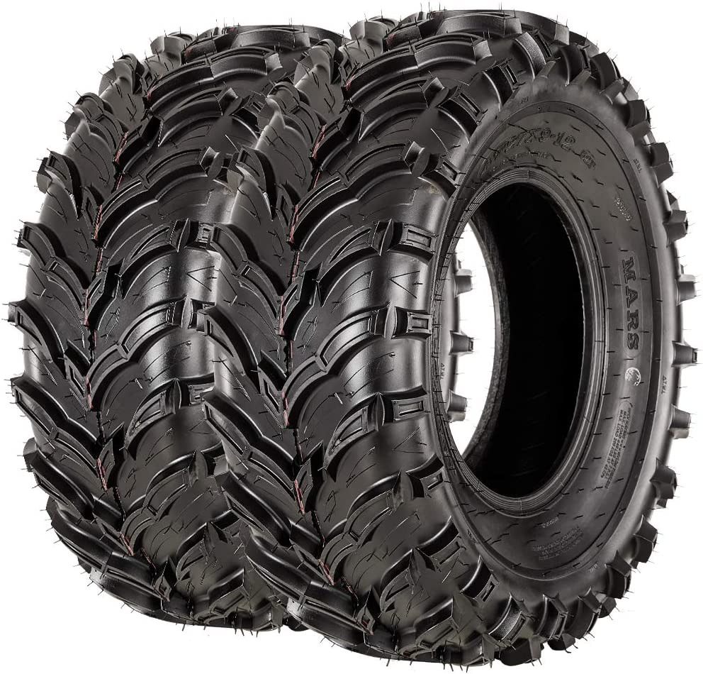 VANACC ATV UTV Tires 27x9-12 Front /& 27x11-12 Rear Mud Tire 27x9x12 27x11x12 Set of 4 6PR Tubeless
