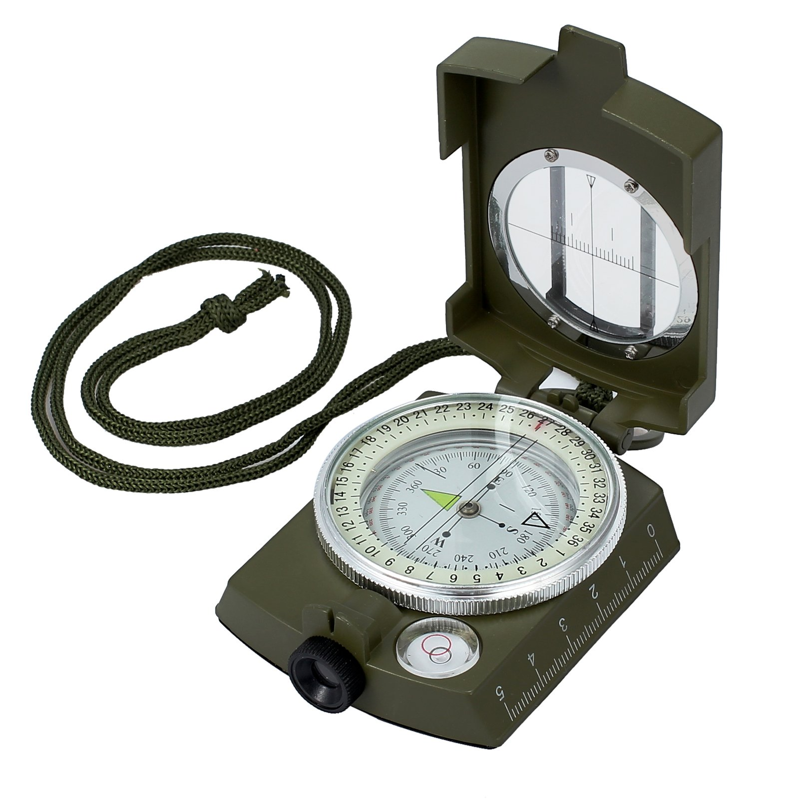 Proster Professional Compass Metal Waterproof IP65 Compass Carry Bag Camping Hunting Hiking by Proster
