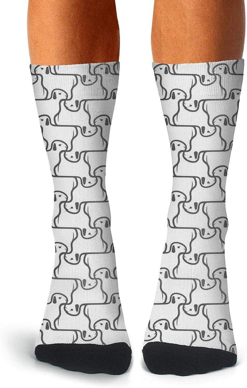 Mens Dear Stella Magik Deer Socks Personality Crew Compression Socks