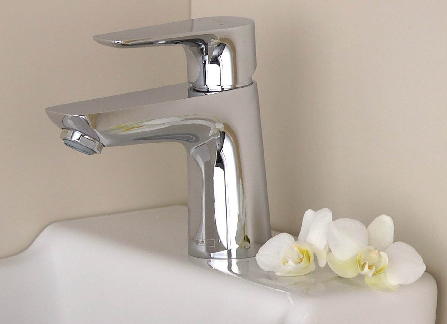 chrome 71717000 hansgrohe Talis E basin mixer tap 240 without waste