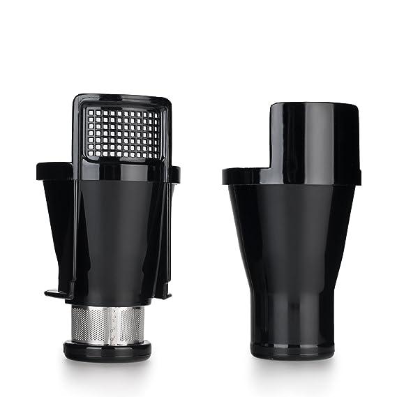 BioChef Axis Cold Press Juicer - Extractor de zumo horizontal, Procesador de alimentos, BPA Free y Silencioso. 20 Años de Garantía (Plata): Amazon.es: Hogar
