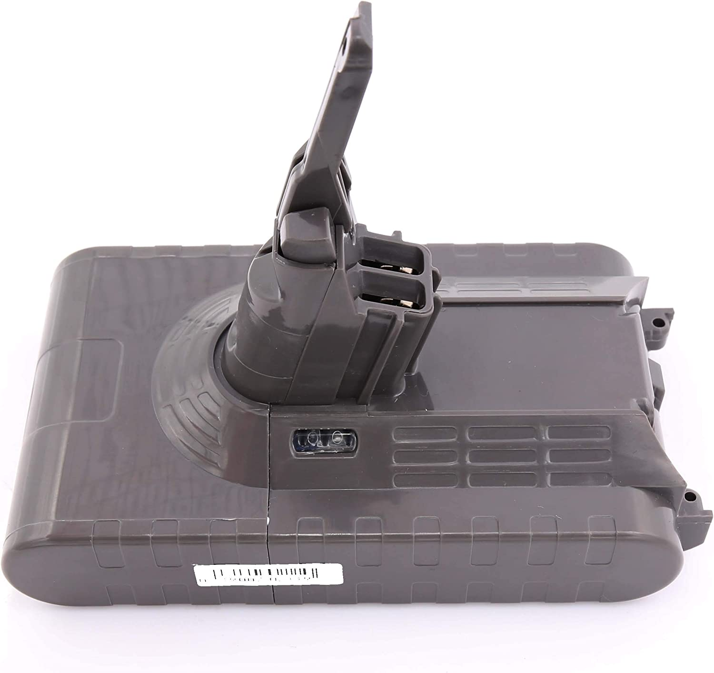 HENGSI 3000mAh V8 Batería Reemplazo para Dyson V8 SV10 967834-02 Absolute Cord-Free Aspiradora de mano Aspiradora 966489-04 Batería