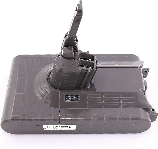 HENGSI 3000mAh V8 Batería Reemplazo para Dyson V8 SV10 967834-02 Absolute Cord-Free Aspiradora de mano Aspiradora 966489-04 Batería: Amazon.es: Electrónica